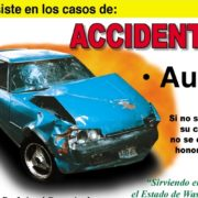 no UIM & PIP Insurance--image of vehicle damaged in a collision